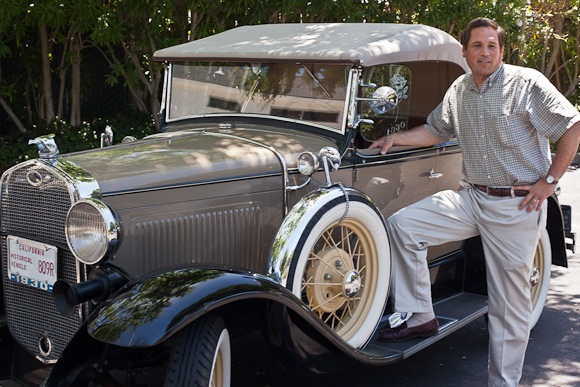 Bruce Deal and his 1930 Ford Model A