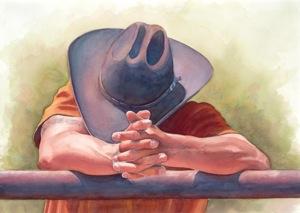Christina Holmes: Artist into the cowboy thing