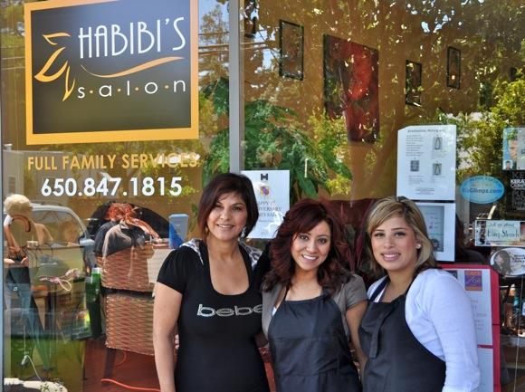Staff of Habibi's Salon Menlo Park