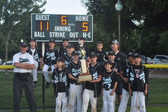 Menlo Park City Little League champs