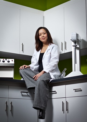 Lynn Pham, owner of NuLeaf Pharmacy in Menlo Park