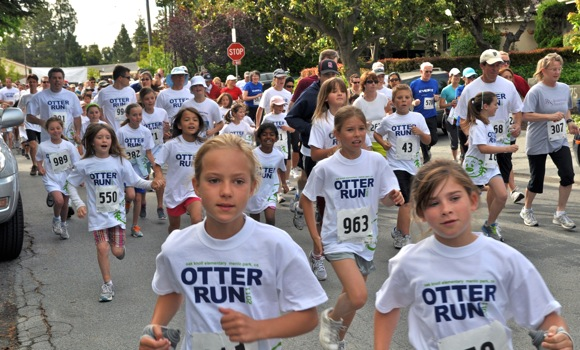 2011 Otter Run in Menlo Park