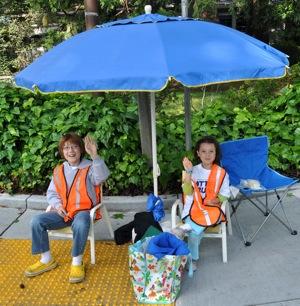 young monitors at 2011 Otter Run