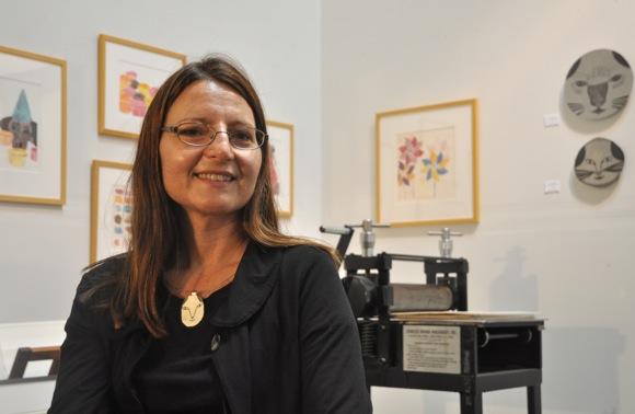 printmaker Cherise Thompson