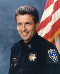 Atherton interim police chief Ed Flint