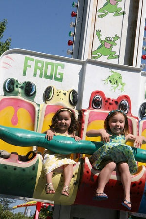 Kids fun zone at Connoisseurs' Marketplace