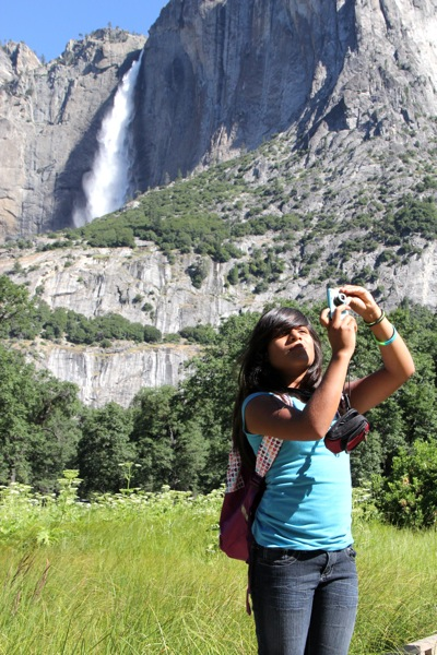 Parks in Focus participant at Yosemite National Park