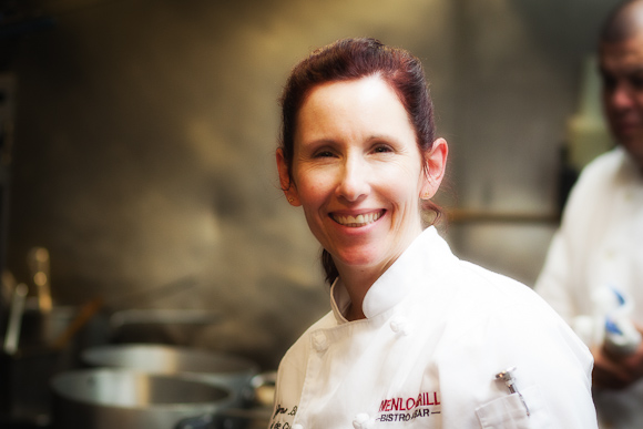 Chef Juliene Brown of Menlo Grill