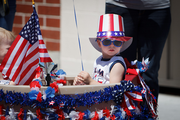 Faces of the 4th of July in Menlo