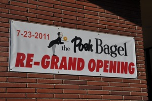 Posh Bagel in downtown Menlo Park
