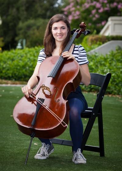 cellist Sarah Ghandour