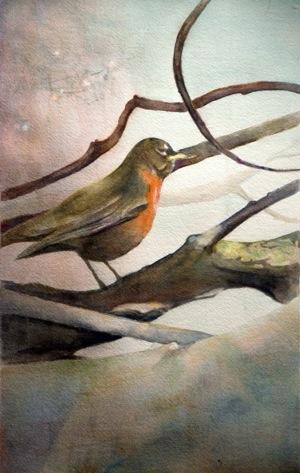 Watercolor paintings by two Menlo Park artists showcased at Interpretations exhibit