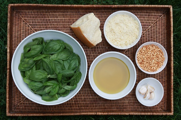 Summertime pasta shines with Gillian's Perfect Pesto