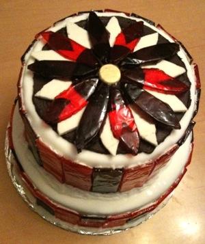 Cake baked by Amy Bayersdorfer
