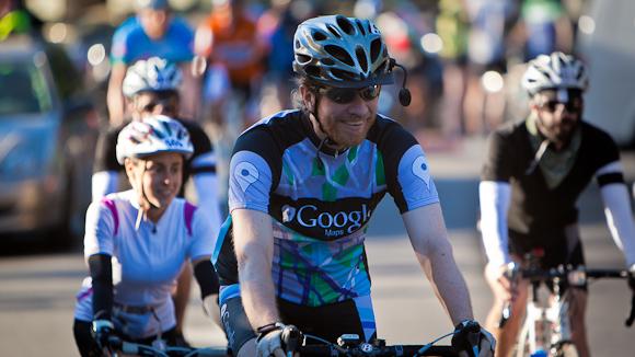 A Perfect Day for Tour de Menlo 2011