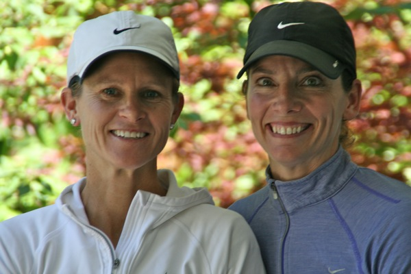 Katie Ferguson and Sally Osterberg of Kids 4 Sports in Menlo Park