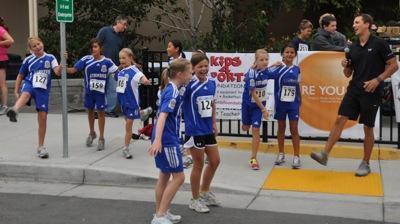 Kids 4 Sports warm up