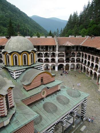 Rila Monastery (c) 2011 by Frances Freyberg