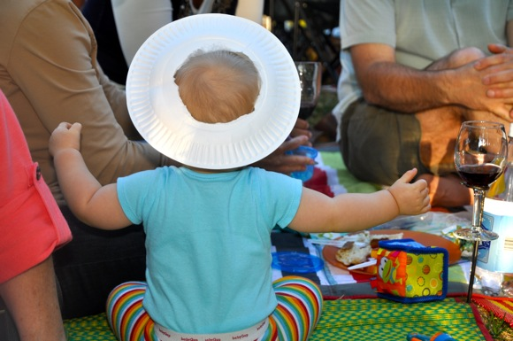Baby at 2011 Menlo Park summer concert series