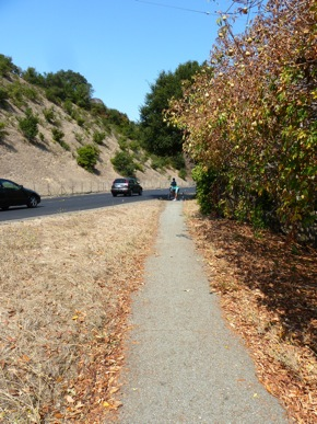 Lower Alpine Trail in unincorporated Menlo Park
