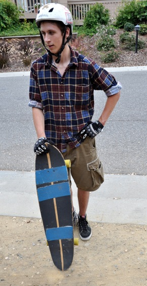 David Hiltbrand: Bringing organized skate board competition to Menlo Park