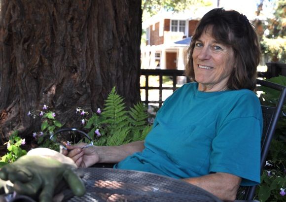 Master gardener Katherine Nelson