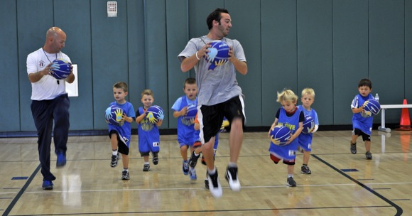 Hi Five Little Ballers,  Menlo Park rec program