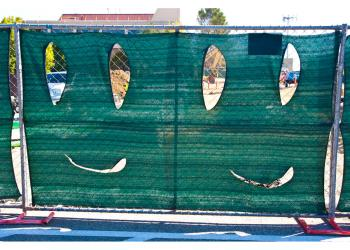 SLAC smiley face fences
