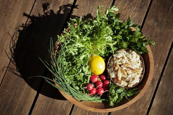 Gillian's Dungeness Crab Salad - Ingredients