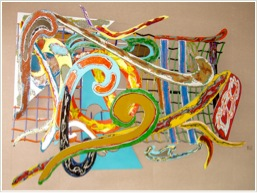 FabMo textile exhibit artwork