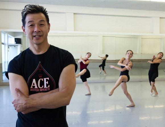 Michael Lowe: Artistic director of Menlo's new dance company