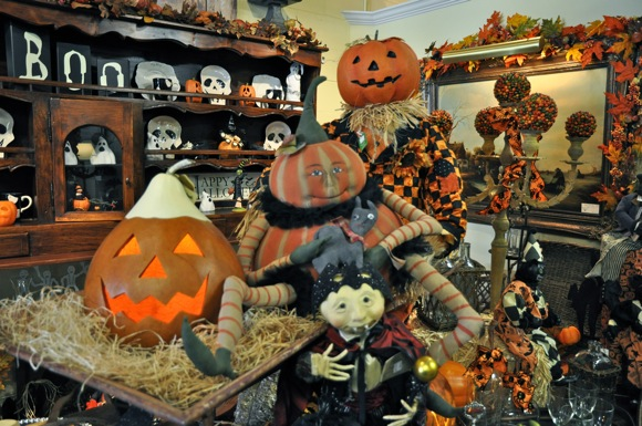 Halloween merchandise at Quintessence in Menlo Park