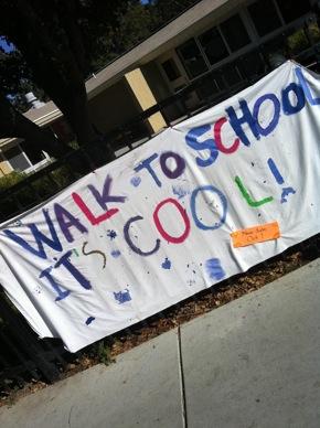 Walk to Laurel School banner