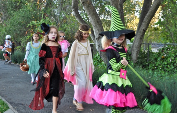 Halloween parades take spotlight at local schools