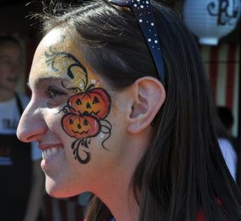 Spotted: Pumpkin face at pumpkin festival