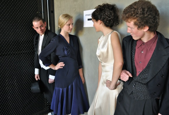 cast of Stage Door performed at Menlo Atherton High School