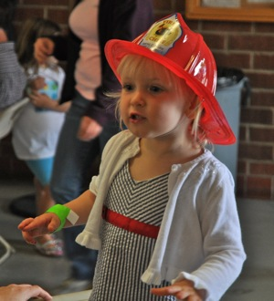 Lots to take in at fire fighters' pancake breakfast
