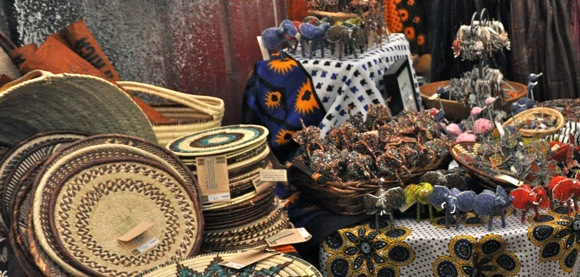 Heavenly Treasures Kenya NGO products at Global Gift Fair
