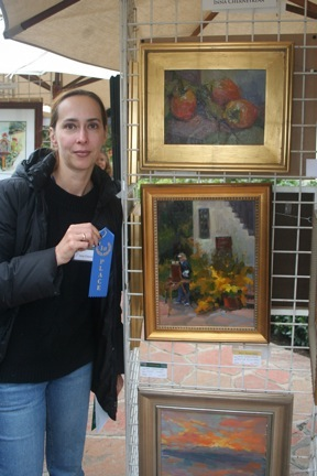 artist Inna Cherneykina