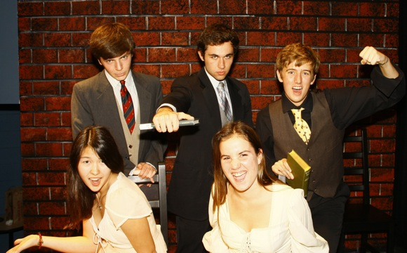 featured cast of Spring Awakening staged by Menlo School