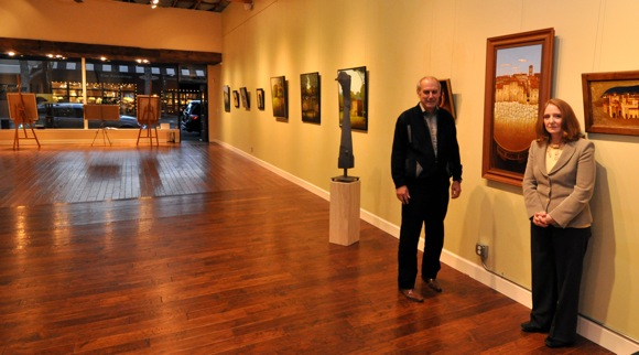 Erricson Himmelberger Gallery in Menlo Park