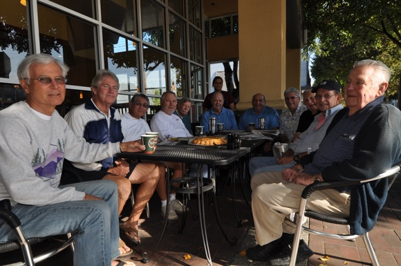 Menlo Park coffee group meets at La Boulanger