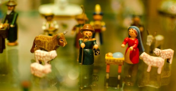 The Nativity in miniature is theme of crèche collection