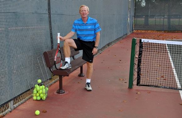 Menlo Park tennis pro Marcus Cootsona