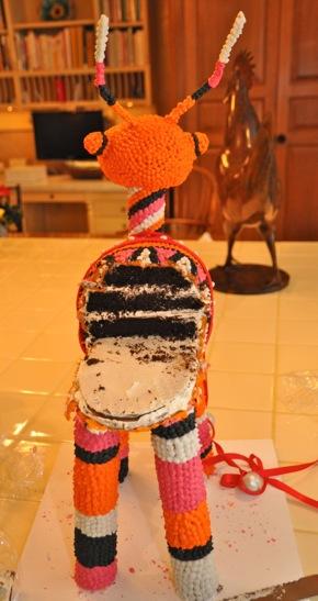 reindeer cake created by Studio Cake of Menlo Park
