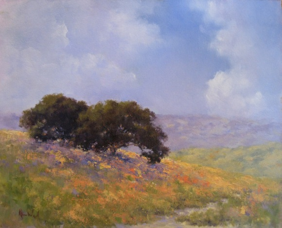 Menlo Park artist Alice Weil's paintings featured at Portola Art Gallery