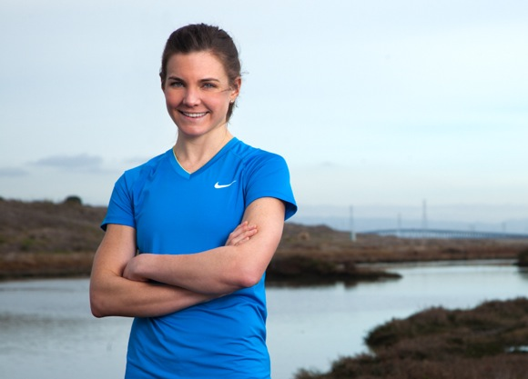 Menlo Park-based runner Ashley Carroll