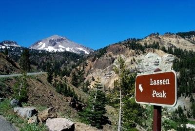 Lassen Peak Volcanic Park