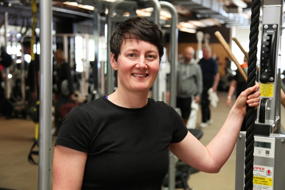 fitness trainer Liz Feierabend