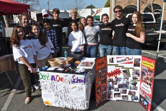 buildOn group from Menlo-Atherton High School